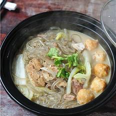 排骨汤炖粉条