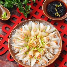 开年大菜——花开富贵白菜牛肉卷