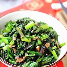 蒜香柳叶红菜苔
