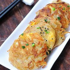 鸟巢土豆饼