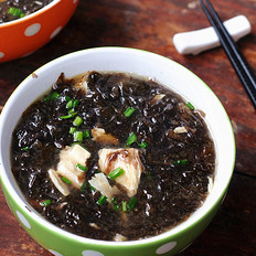 腐竹紫菜汤