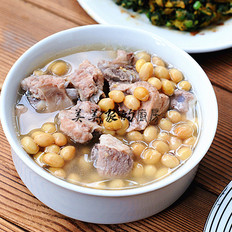 黄豆排骨汤