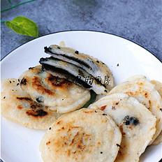 黑芝麻糯米饼