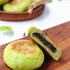 日式红豆麻薯包