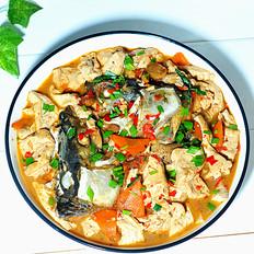 川味鱼头烧豆腐