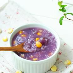 紫薯玉米粥