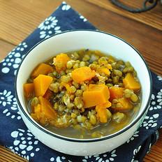 绿豆炖南瓜的做法大全