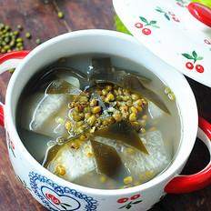 綠豆海帶冬瓜湯的做法大全