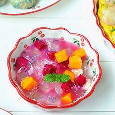 蜂蜜水果冰粉
