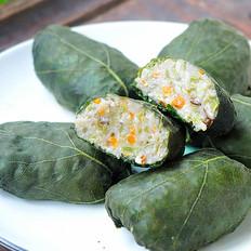 南瓜叶豆角蔬菜包