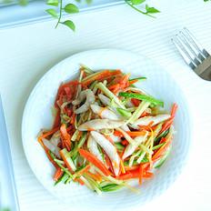 彩蔬拌香芋鱼鱼