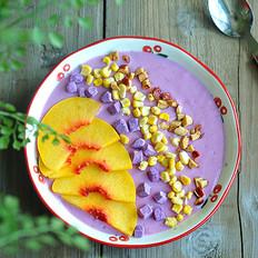 紫薯坚果奶昔