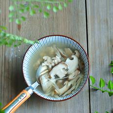 蘑菇猪肉汤