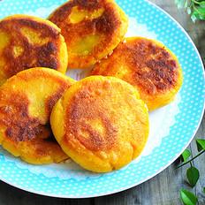玉米红豆花生饼