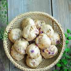 燕麦紫薯小丸子