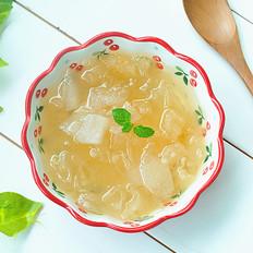秋梨银耳汤