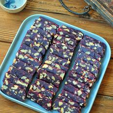 紫薯核桃糕