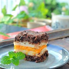 奶香浓郁红豆糕