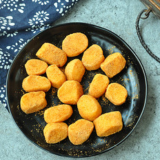 黄豆粉麻薯球