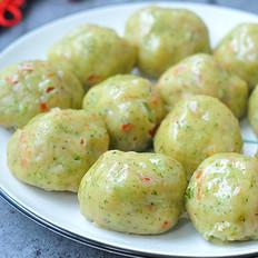 蔬菜薯粉丸子