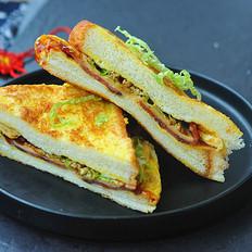 快手鸡蛋三明治