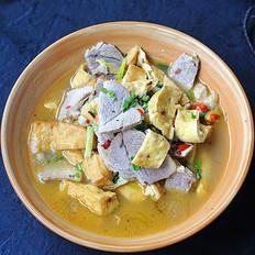 回锅油豆腐烧肉