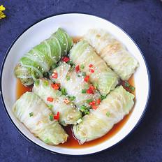 金针菇白菜卷