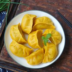 玉米面萝卜丝蒸饺