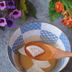 止咳蜂蜜萝卜水