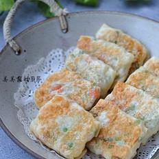 饺子皮糯米卷