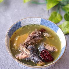 榴莲炖乌鸡