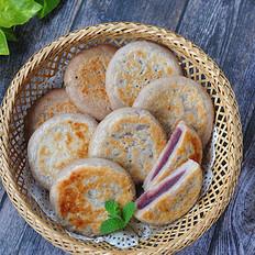 花生紫薯饼