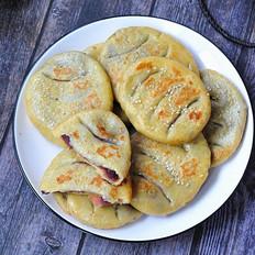 山药紫薯软饼
