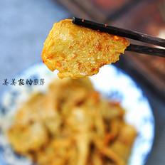 鸡蛋红薯粉煎饼