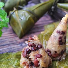 杂粮腊肉粽