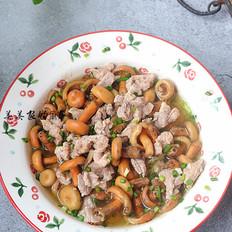 樅菌蒸豬肉