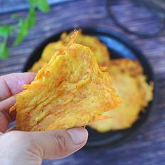 玉米红薯饼