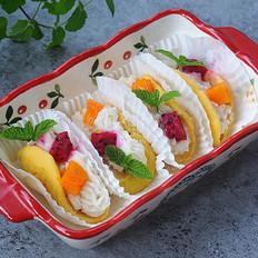 玉米山药水果夹