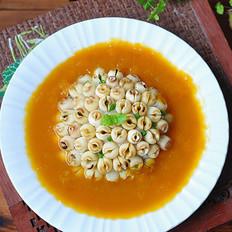 中秋大餐——金瓜山药扣