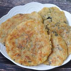 小米燕麦黑芝麻饼
