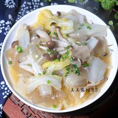 菌子白菜炖粉条