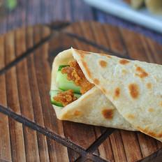 自制墨西哥鸡肉卷,5分钟就上桌,不用揉面真省事,孩子的最爱!