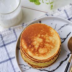 5分钟快手营养早餐——羊奶松饼、羊奶茶