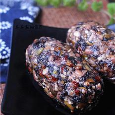 黑豆红枣水晶团子