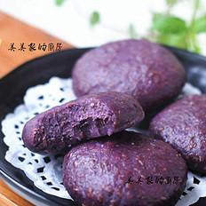 全麦紫薯饼