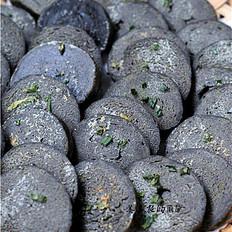 烤黑芝麻馍片