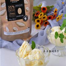 白巧冰激凌的做法