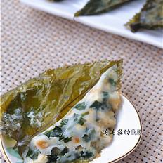 桑叶饺子的做法