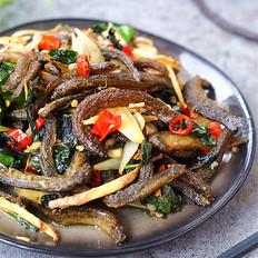 紫苏炒泥鳅的做法