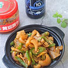 青椒炒肉皮